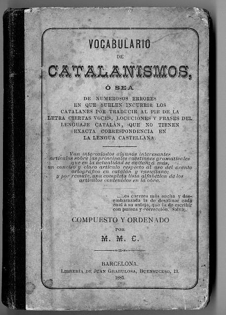 vocabulario catalan: