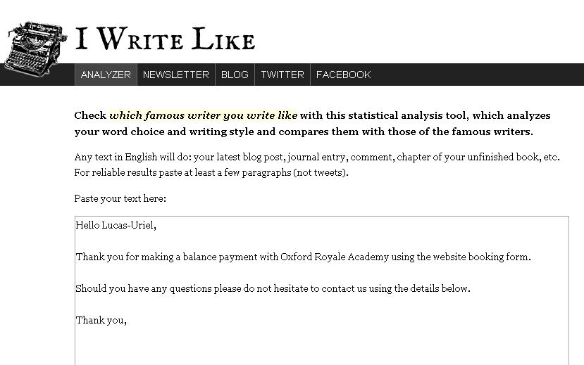 Libros Y Bitios Blog Archive Como Quien Escribo